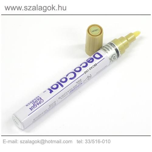 Deco Color lakkfilc 3mm  ARANY