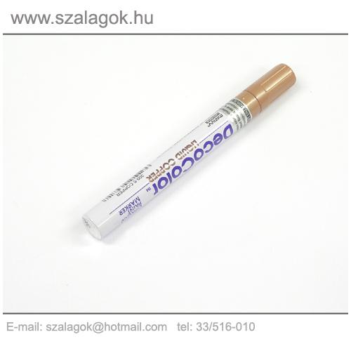 Deco Color lakkfilc 3mm BRONZ