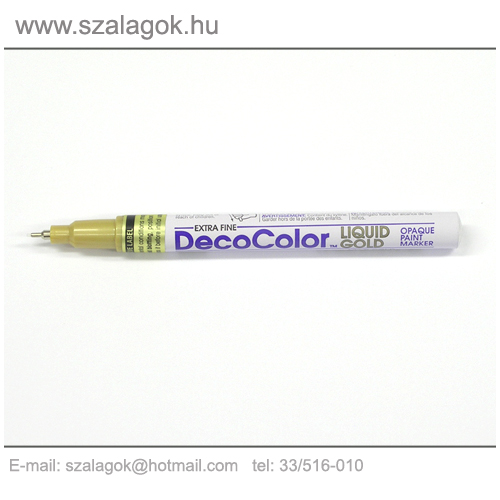 Deco Color lakkfilc 1mm  ARANY