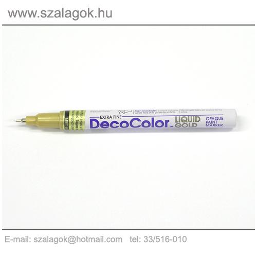Deco Color lakkfilc 1mm  ARANY