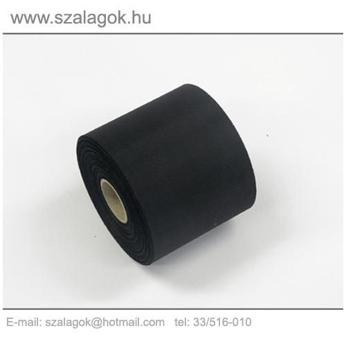 7cm-es fekete feliratozható szalag