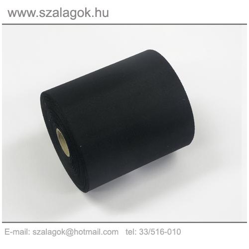 11cm-es fekete feliratozható szalag