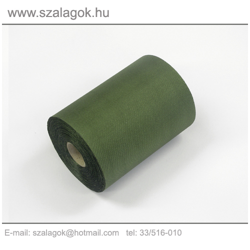 11cm-es zöld feliratozható szalag