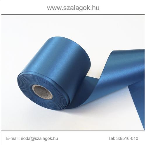 25cm széles szatén szalag 25m C36-kék