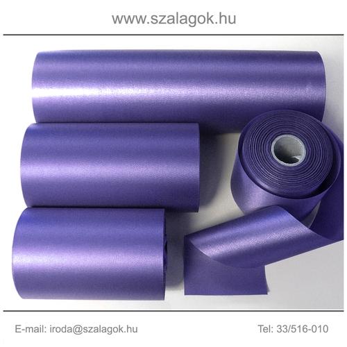 10cm széles szatén szalag 25m C10-lila
