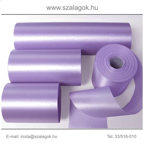 7cm széles szatén szalag 25m C17-lila