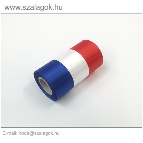 9cm-es Francia nemzeti szalag 10m / tekercs
