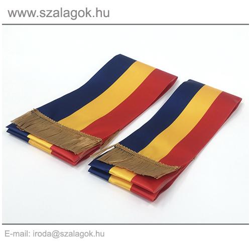 12 X 200cm-es Román szalag, arany rojtos - 2db/cs