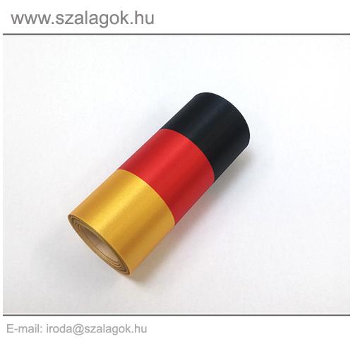 12cm-es Német nemzeti szalag 10m / tekercs