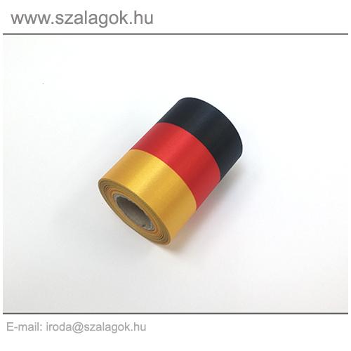 7cm-es Német nemzeti szalag 10m / tekercs
