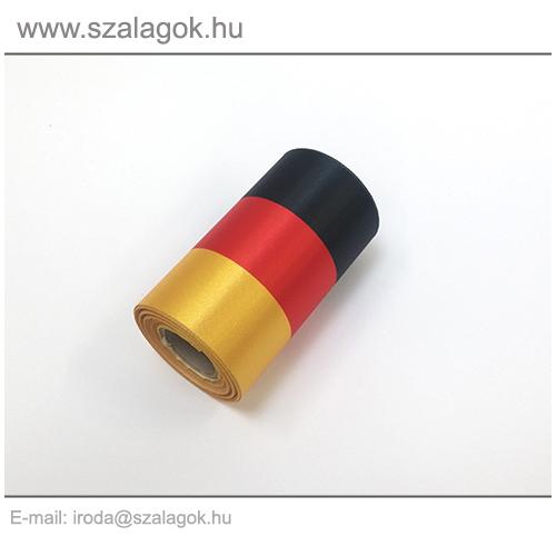 9cm-es Német nemzeti szalag 10m / tekercs
