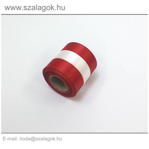 5cm-es Osztrák nemzeti szalag 10m / tekercs