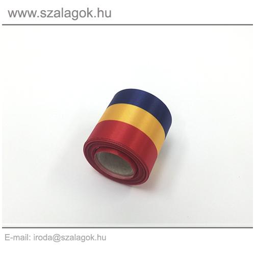5cm-es Román nemzeti szalag 10m / tekercs