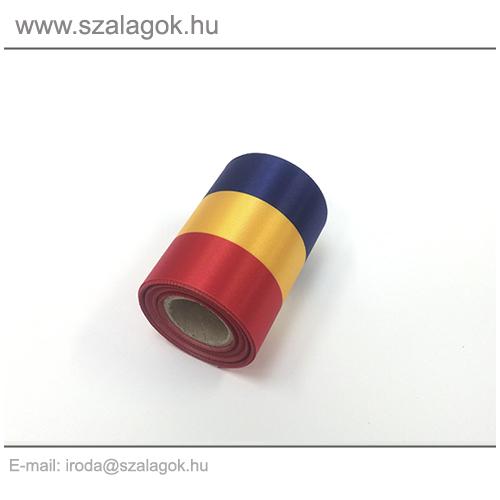7cm-es Román nemzeti szalag 10m / tekercs