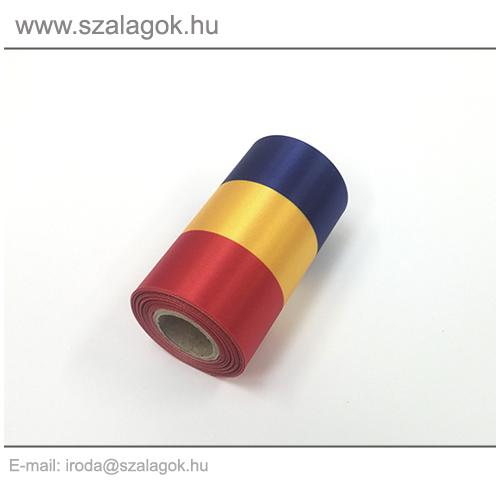 9cm-es Román nemzeti szalag 10m / tekercs